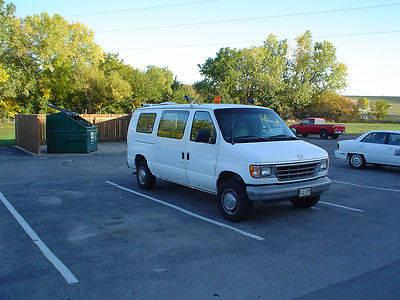 Ford E250 Extended Cargo Van w/ shelves and emergency