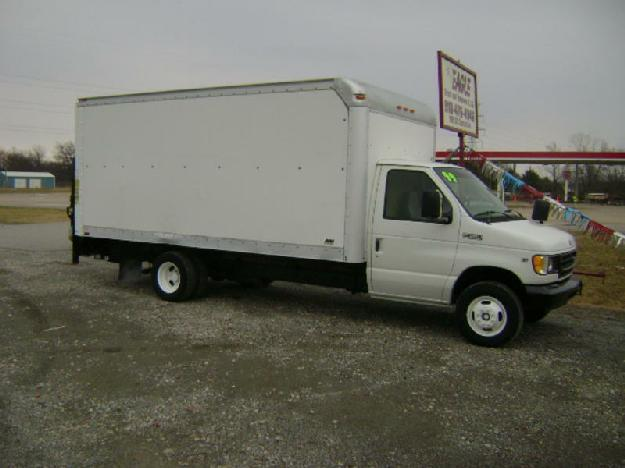ford e350 straight box truck for sale for sale in chouteau oklahoma classified. Black Bedroom Furniture Sets. Home Design Ideas