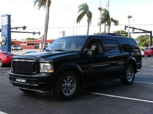 ford excursion for sale in pompano beach florida classified. Black Bedroom Furniture Sets. Home Design Ideas