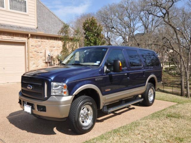 ford excursion eddie bauer for sale in el paso texas classified. Black Bedroom Furniture Sets. Home Design Ideas
