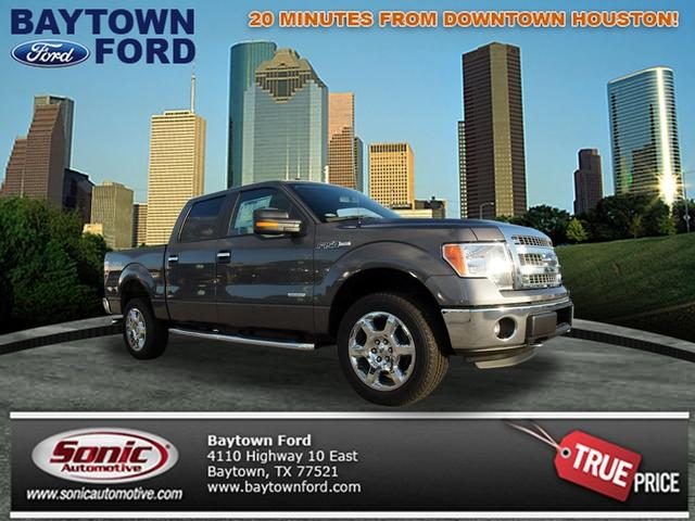 FORD F-150 4x4 XLT 4dr SuperCrew Styleside 5.5 ft. SB