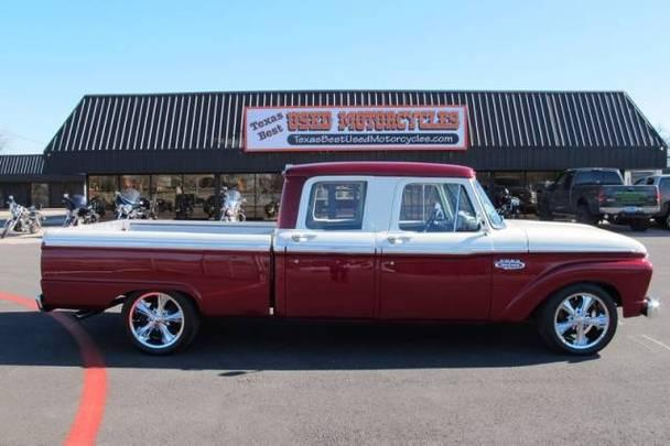 ford f100 crew cab built 428 super cobra jet for sale in mansfield texas classified. Black Bedroom Furniture Sets. Home Design Ideas