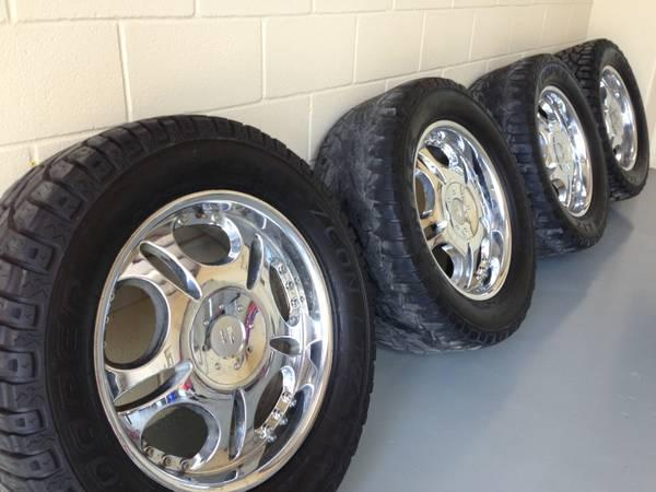 Ford F150 Chrome Wheels, Rims  Tires, Ford F-150 Rims 20in rims - $580