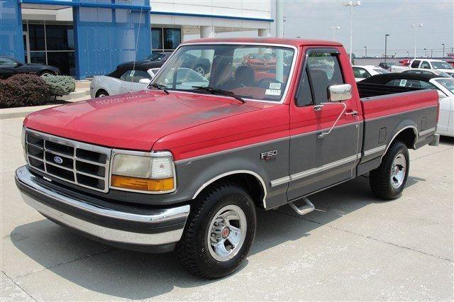 Ford F150 Custom 1992 1992 Ford F 150 Custom Car For