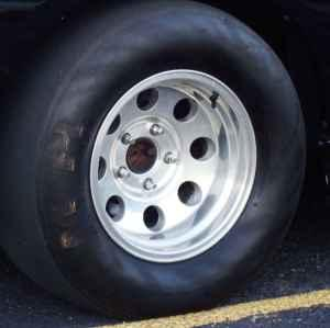 Ford F150 Lightning M&H Racing Slicks and Baja Wheels -