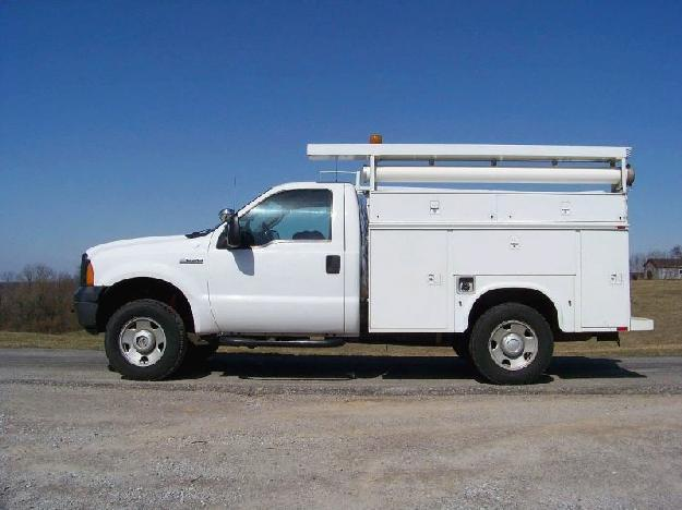 FORD F250 SD SERVICE - UTILITY TRUCK FOR SALE