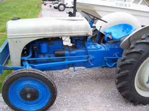 Ford Model 9n Tractor W O Auger Southington Ct For