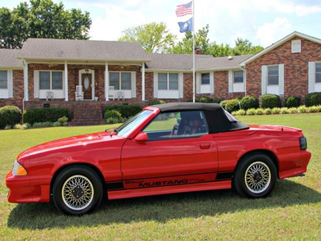 ford mustang  rare asc mclaren mus  sale  spartanburg south carolina classified