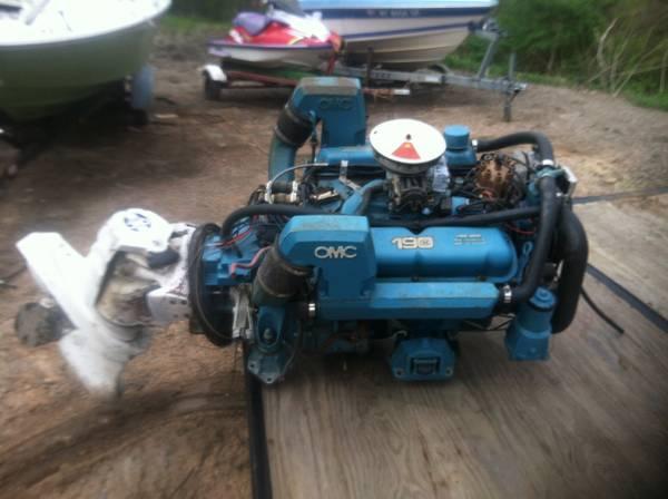 Ford omc 190 hp v8 boat motor - $400