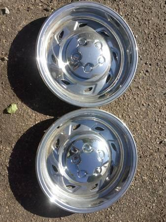 ford ranger chrome hub caps - $100