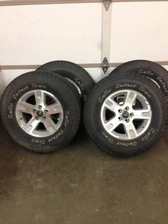 ford ranger explorer rims and tires for sale in kasson. Black Bedroom Furniture Sets. Home Design Ideas