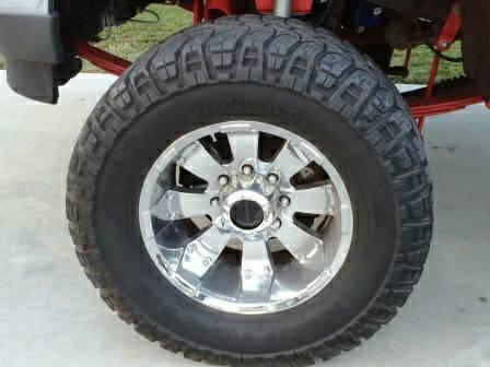 Ford Super Duty 18 Quot Chrome Rims W Mickey Thompson Off