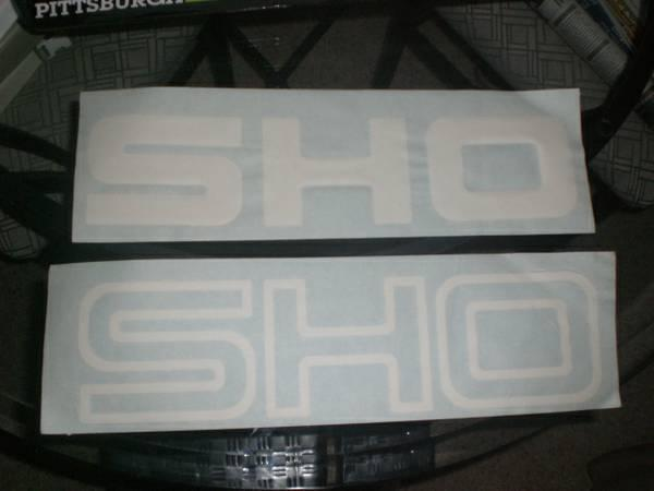 Ford Taurus SHO Decals - $25