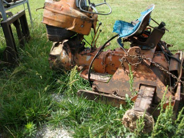 Lawn Tractor Rear End : Ford tractor transmission and rear end miami ok for sale