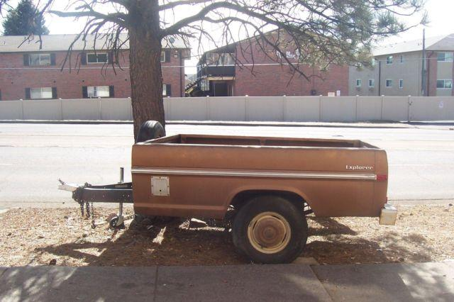 ford truck bed trailer for sale in colorado springs colorado classified. Black Bedroom Furniture Sets. Home Design Ideas