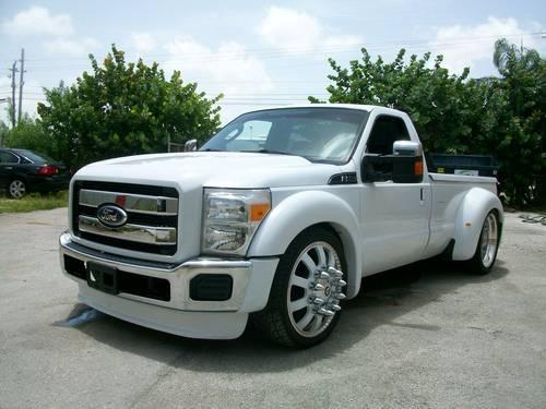 ford f 250 dually fully custom 24 rims air bags clean title for sale in miami florida. Black Bedroom Furniture Sets. Home Design Ideas
