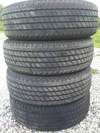 four 265-70-R17 nexen tires - $100