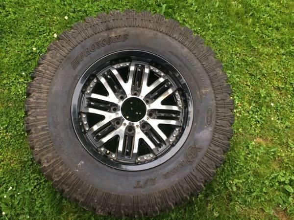Four 35x12.5inch tires - $1200