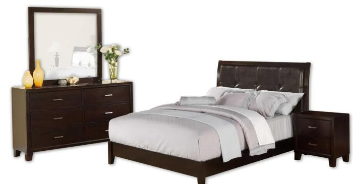 Four All Wood 6pc Bedroom Sets Under L O W Warehouse Sale