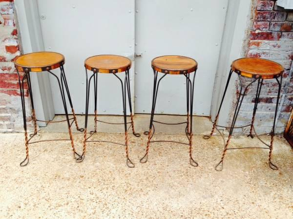 Super Four Antique Great Northern Chair Co Ice Cream Parlor Stools Lamtechconsult Wood Chair Design Ideas Lamtechconsultcom