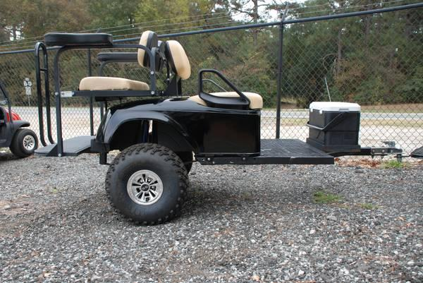 Four Passenger Golf Cart Trailer For Sale In Perry