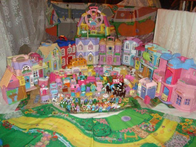 Fp Sweet Streets Dollhouses 14 Bldgs Vehicles Furniture