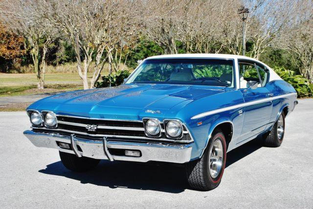 Frame-Off Restored 1969 Chevrolet Chevelle SS Numbers Matching 396 ...