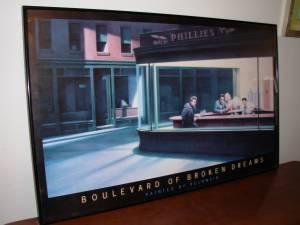 Framed Boulevard Of Broken Dreams Print By Helnwein