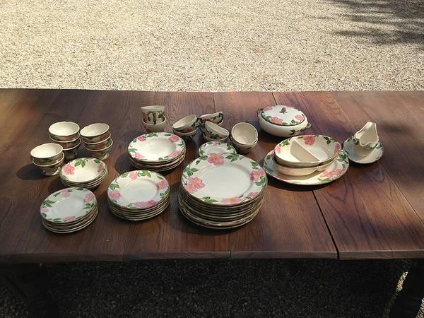 Franciscan Desert Rose dinnerware and serving pieces - & Franciscan Desert Rose dinnerware and serving pieces - for Sale in ...