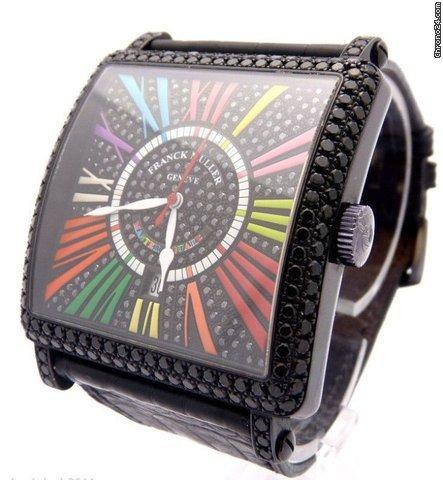 Franck Muller King Master Square Color Dreams 6000 18K
