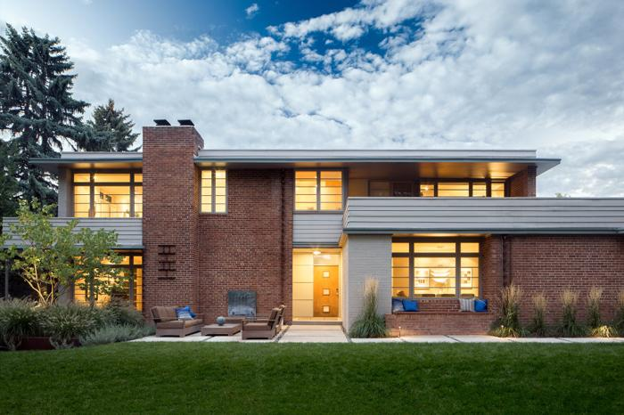 Frank lloyd wright 39 s usonian style mid century modern for for Mid century modern homes denver