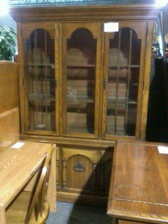 FREE DELIVERY Oak China Cabinet Dining Room Server Forest Hill MD