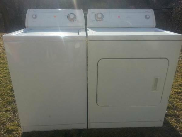 Free Delivery On Washer And Dryer Set Each Set For