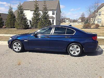 free maintenance to 100k 2012 bmw 528i with low miles for sale in delaware ohio