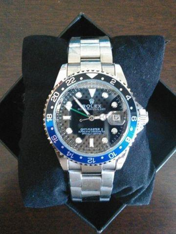 FREE SHIPPING !! AUTOMATIC ROLEX GMT MASTER II WATCH