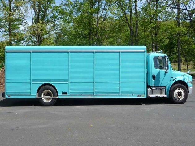 FREIGHTLINER BUSINESS CLASS M2 106 BEVERAGE TRUCK FOR