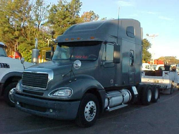 freightliner cl12064st columbia 120 tandem axle sleeper for sale for sale in covington. Black Bedroom Furniture Sets. Home Design Ideas