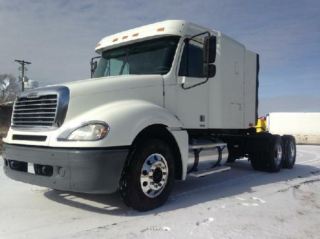 Freightliner columbia tandem axle sleeper for sale