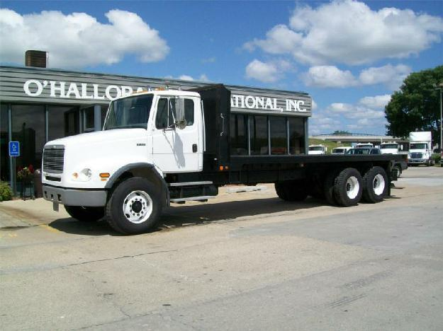 freightliner fl112 flatbed truck for sale for sale in des moines iowa classified. Black Bedroom Furniture Sets. Home Design Ideas