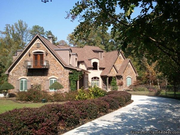 French Country Grand Cottage 7 Acres Carriage House With