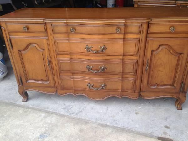 French Provincial Buffet Sideboard Dresser For Sale In