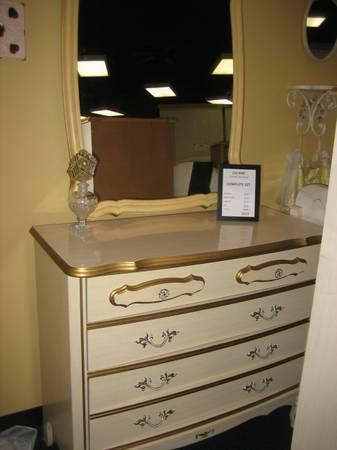 French Provincial Chest of Drawers - $155