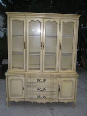 French Provincial China Cabinet- MADE TO ORDER