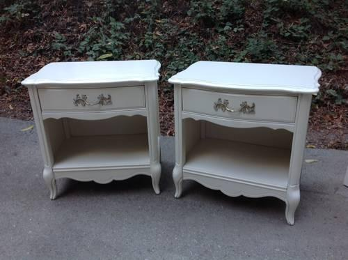French Provincial Lea Nightstands For Sale In San Jose California Classified