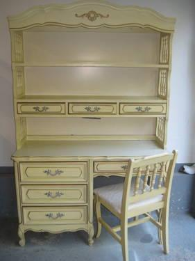 French Provincial Style Bedroom Set For Sale In East