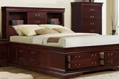 Fresh King Captains Bed N Bookcase And Storage Drawers