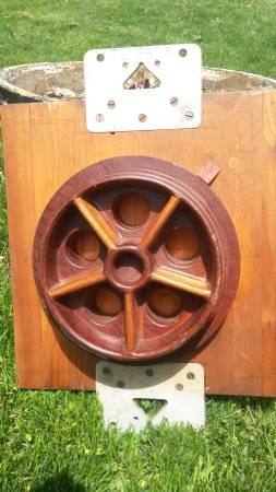 FRICK CO. Sawmill Wheel / Pulley Foundry Pattern - $50