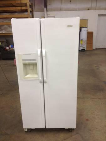 Fridge side by side darr s discount appliances for sale in high