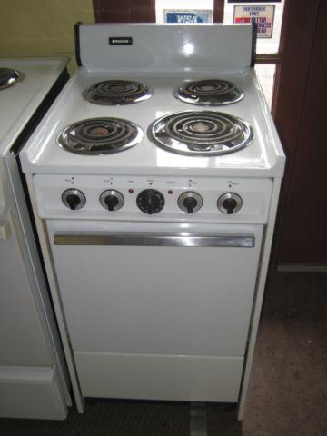 FRIGIDAIRE 20 INCH ELECTRIC RANGE FREE STANDING 4 BURNER for ...