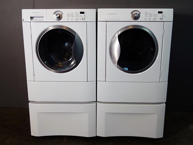 Frigidaire 3 5 Front Load Washer And Dryer With Clear